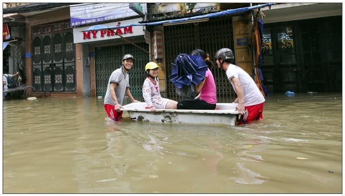 ベトナム洪水